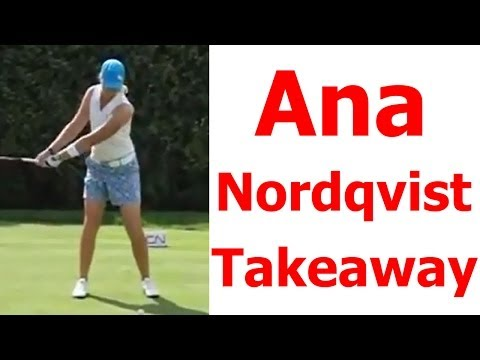 Anna Nordqvist Golf Swing - Takeaway Lesson