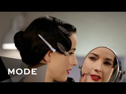 Dita von Teese Easy Hair DIY  Hair Report