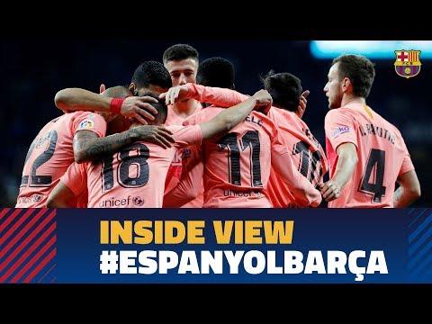 ESPANYOL 0-4 FC BARCELONA | Behind the scenes