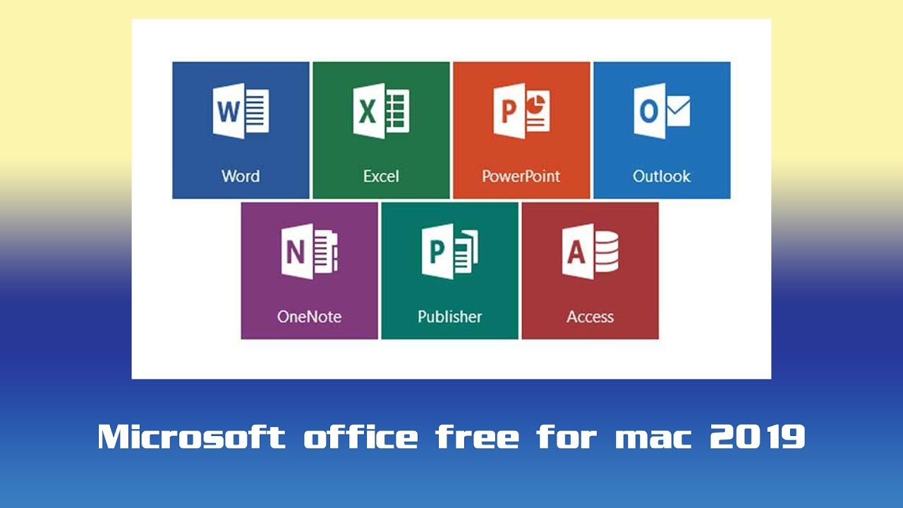 How To Get 2019 Microsoft Office full version 100% FREE For Mac ! (Latest  Version 2019)