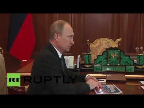 Russia: Putin meets Financial Monitoring Director Yuri Chikhanchin