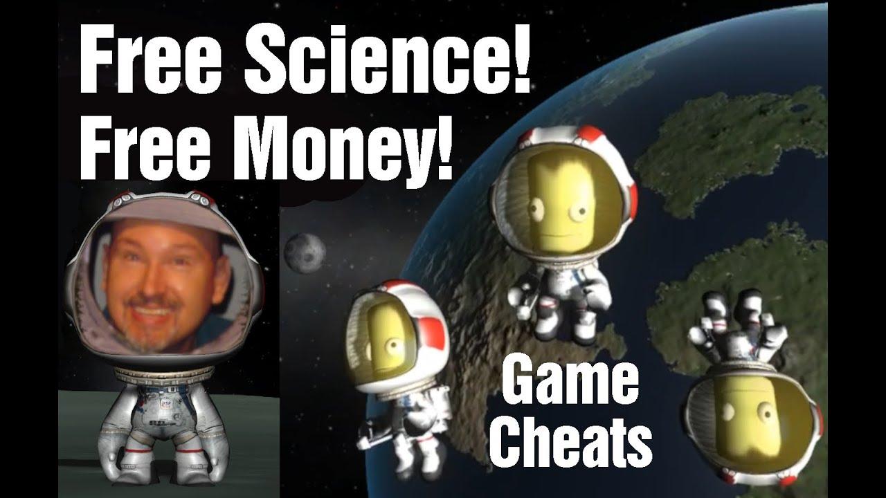 Get Free Money & Science Inside KSP Using This Cheat Menu