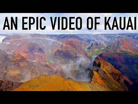 The Amazingly Beautiful Kauai, Hawaii (Epic Video)