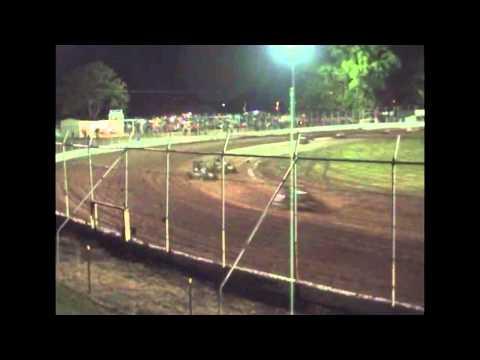 Speedcars - A-Main - Speedcar Super Series (Round 02) - Kingaroy Speedway - 28.10.11