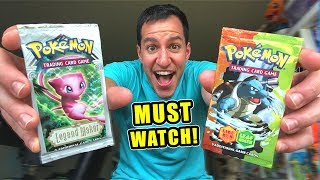 If You Love Vintage Pokemon Cards WATCH This Opening!