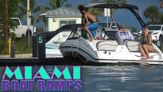 THAT'S GOING TO LEAVE A DENT!! | Miami Boat Ramps | 79st Boat Ramps