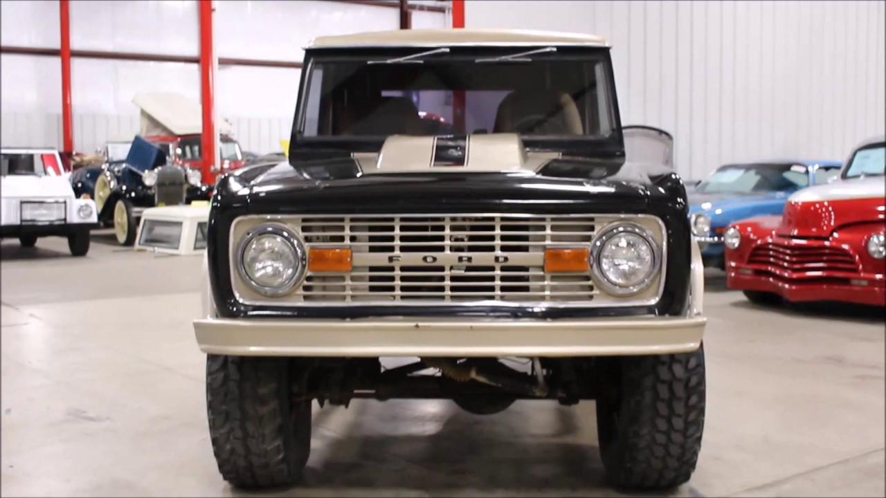 1970 Ford Bronco Black