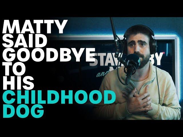 Matty Had To Farewell His Childhood Dog | B105