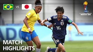 Brazil v Japan - FIFA U-17 Women's World Cup 2018™ - Group B