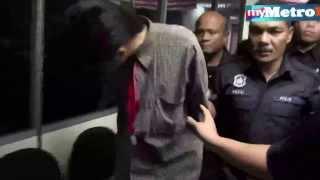 Suspek rompak eksekutif penerbangan dihadap ke mahkamah