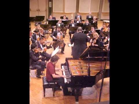 MOZART Concierto para Piano No 20 en re menor (A. Levell, Piano)