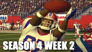UGLY MIGHT BE A GOOD THING - EESPN NFL 2K5 BILLS FRANCHISE VS PATRIOTS (S4W2)