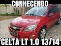#03 -  Interior Chevrolet Celta 2014