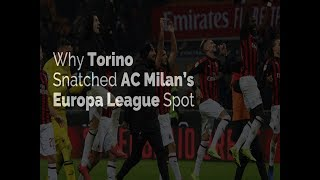 Why Torino Snatched AC Milan's Europa League Spot