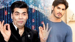 Karan Johar Introduces Sunil Shetty's Son Ahan Who Is Ready To Debut With Action-Thriller Film