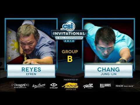 2014 CSI 8 Ball Invitational: Reyes vs Chang