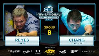2014 CSI 8 Ball Invitational: Reyes vs Chang