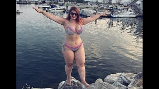 Bikini Fashion Collection ||Curvy Plus Size Beach Outfit Ideas