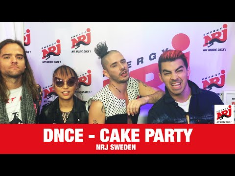 [INTERVIEW] Cake Party Med DNCE - NRJ SWEDEN