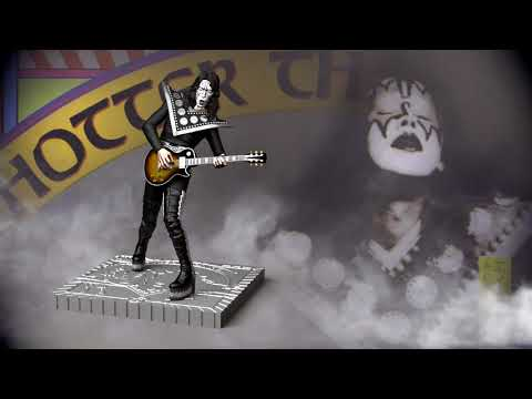 """Hotter Than Hell"" Rock Iconz™ Ltd. Edition Statues from KnuckleBonz Rock Iconz"