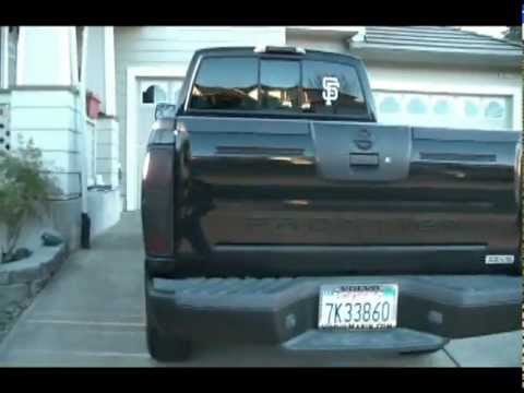 Nissan Frontier Crew Cab >> Murdered Out 2004 Nissan Frontier - YouTube