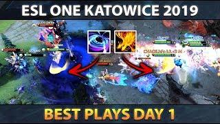 Best Plays ESL One Katowice 2019 - Day 1