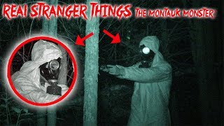 STRANGER THINGS - SEARCHING FOR THE MONTAUK MONSTER GONE WRONG!