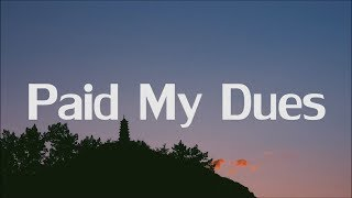 NF - Paid My Dues (Lyrics)