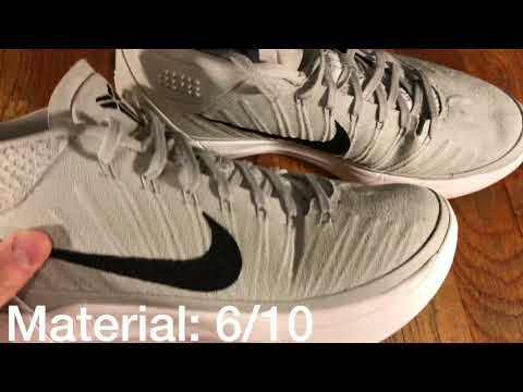 "Nike Kobe AD Mid Performance Review ""Grey and White"""