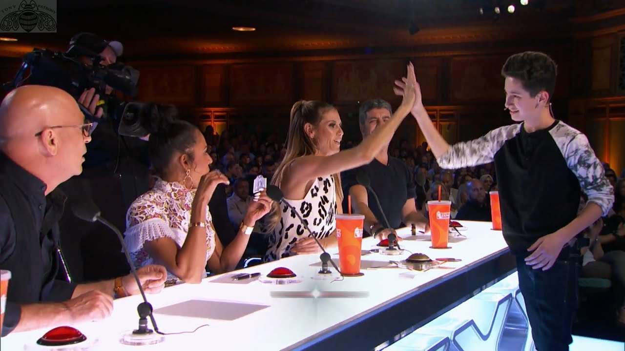 Americas got talent 2017 young magician - America S Got Talent 2017 Henry Richardson Young Magician Dazzles Full Audition S12e05