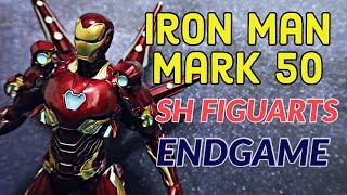 IRON MAN MK 50 ACTION FIGURE REVIEW | Avengers Endgame Sh Figuarts