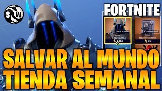 FORTNITE - SAVE THE WORLD I ARRIVE THE KING ICE AND WEEKLY OBJECTS
