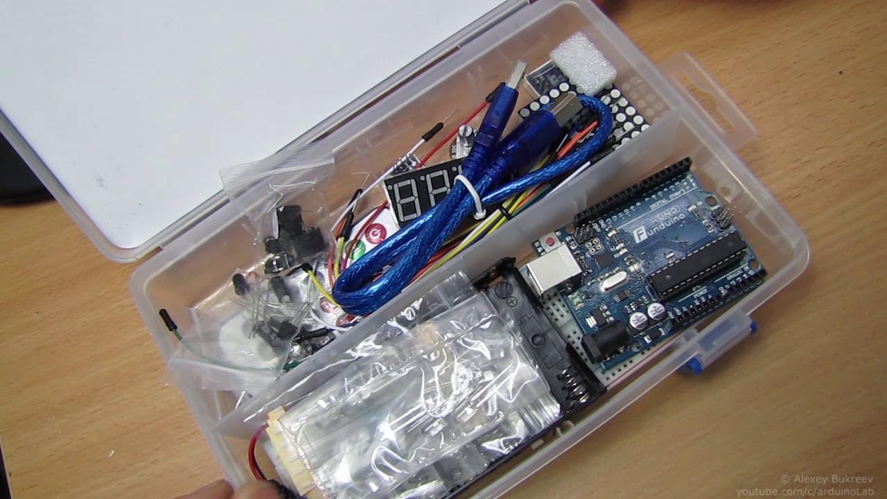 Набор arduino для начинающих kt uno starte