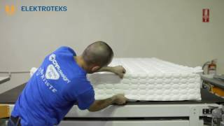 BEDLINE - Mattress Production Machinery, Gluing, Tape Edge and Packing Line