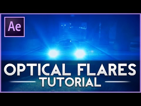 How To Use Optical Flares in After Effects CS6/CC (After Effects Tutorial)