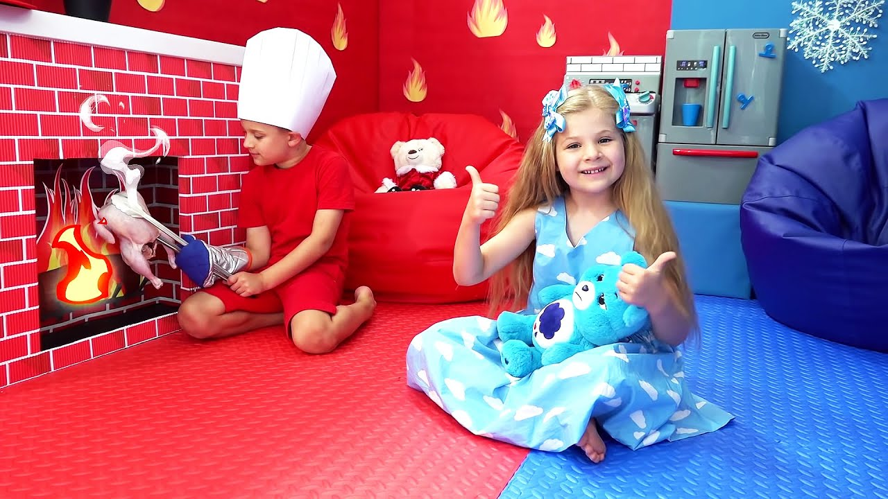 Download Diana and Roma Play in New Room | Collection of videos for children