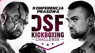 Konferencja prasowa DSF KB Challenge w Ząbkach - Na żywo
