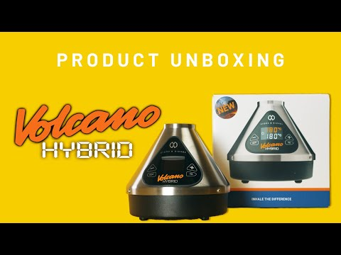 Storz & Bickel Volcano Hybrid [UNBOXING] Latest Version of the Best Dry Herb Vaporizer