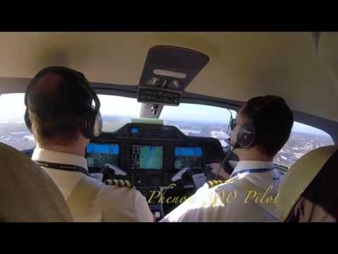 Teterboro KTEB - ATC audio -Embraer Phenom 300