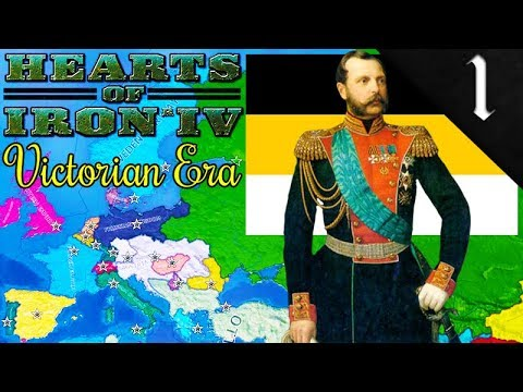 RUSSIAN COLONIAL CONQUEST! Hearts of Iron 4: Victorian Era Mod: Russian Empire: Alexander II #1