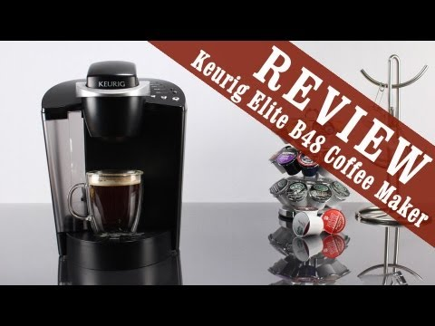 Review: Keurig Elite B48 (upgraded from Keurig B40) K-Cup Single Cup Home Brewing System - YouTube