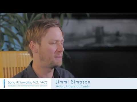 Jimmi Simpson Fractured Clavicle Surgery  Sonu Ahluwalia MD