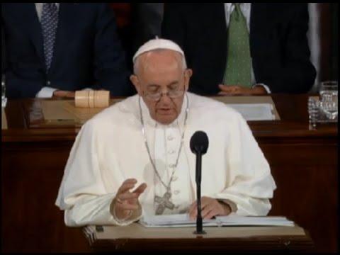 Pope Speaks To Congress