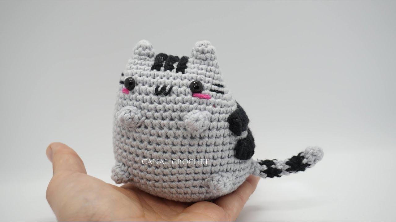 Gato kawaii amigurumi tutorial - YouTube