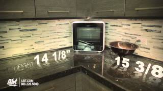 overview of the whirlpool countertop microwave wmc20005