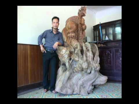 gỗ lũa độc đáo