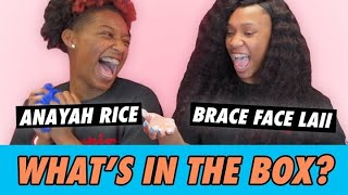 Anayah Rice vs. Brace Face Laii - What's In The Box?