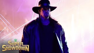 Undertaker's shocking entrance: WWE Super ShowDown 2020 (WWE Network Exclusive)