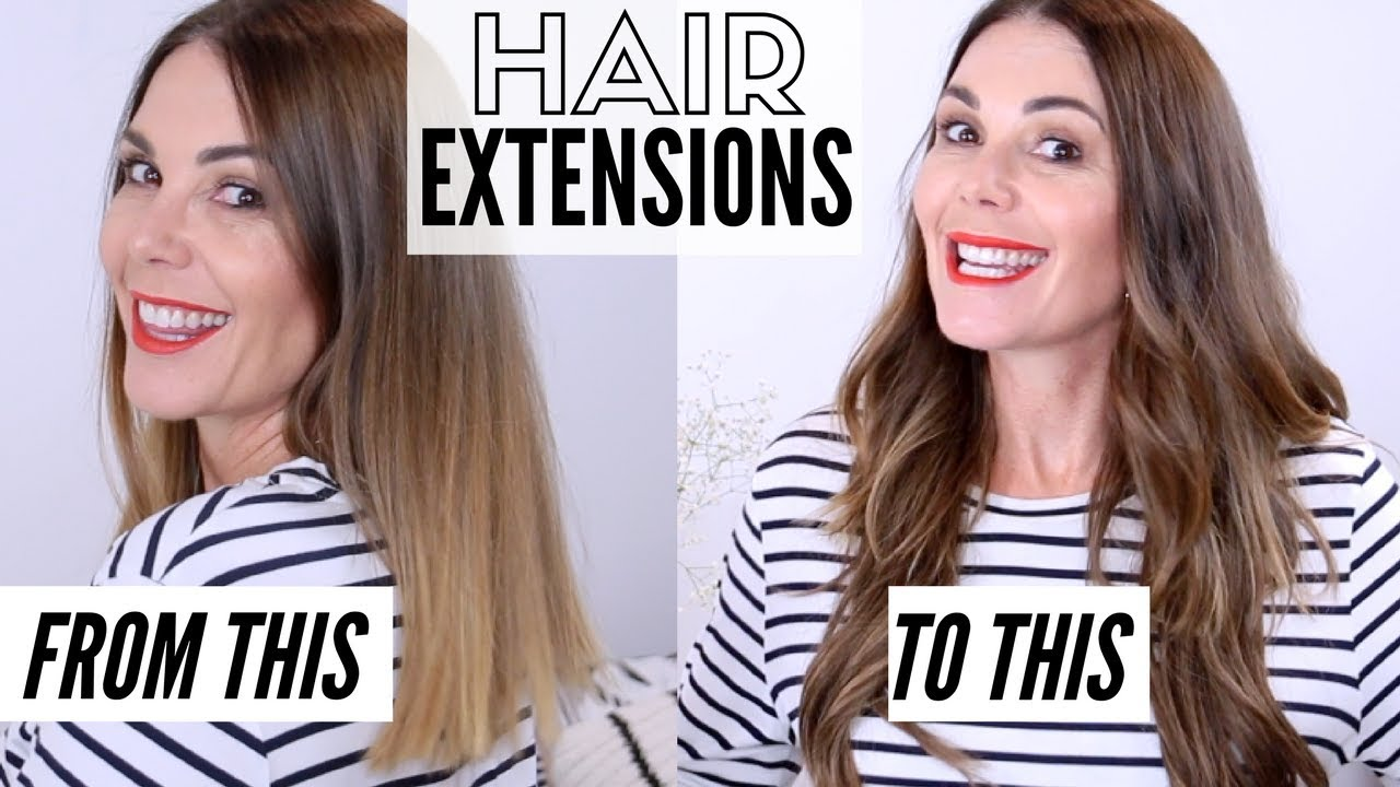 Clip In Hair Extensions All You Need To Know Youtube