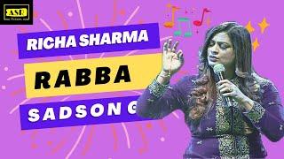 ZINDAGI MAIN KOI KABHI AAYE NA RABBA - Richa Sharma Live